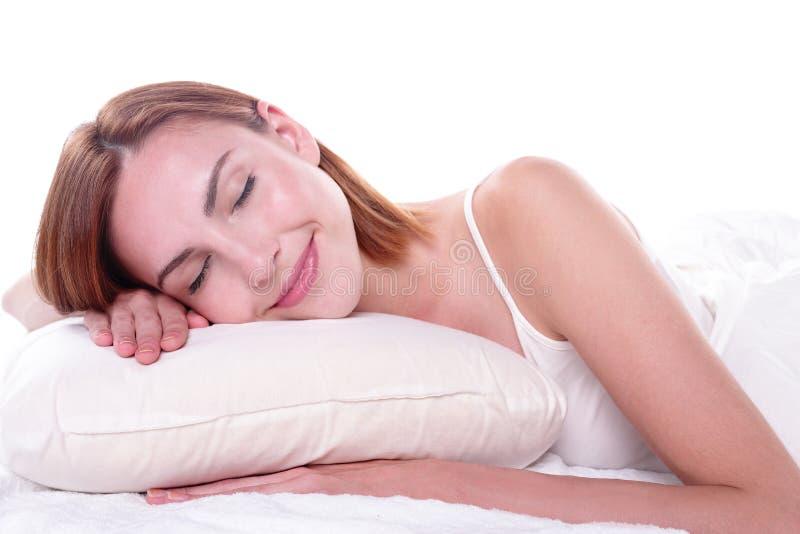 Sonno di salute e buon immagine stock