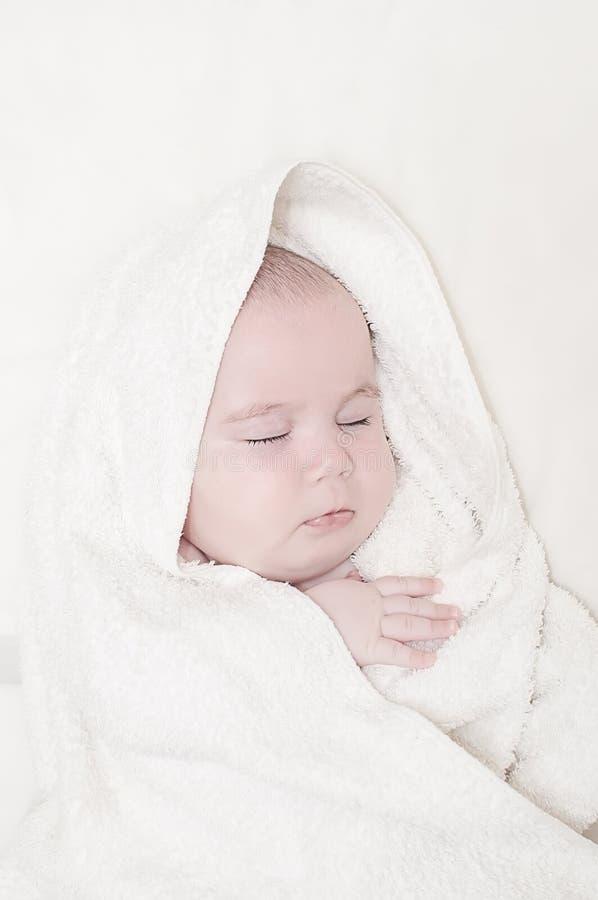 Sono do bebê fotografia de stock royalty free