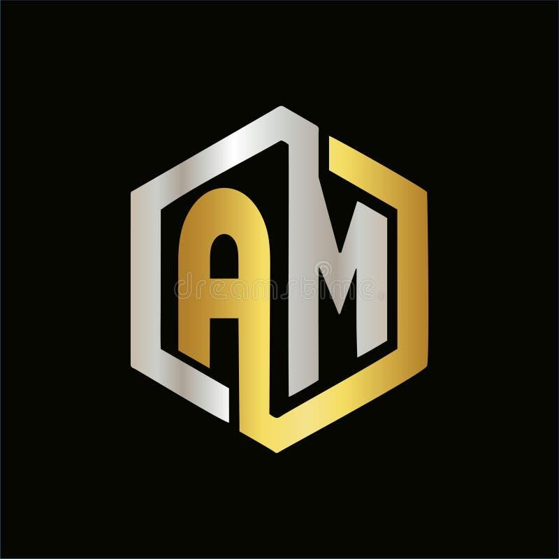 SONO il logos della lettera per il vostro affare royalty illustrazione gratis