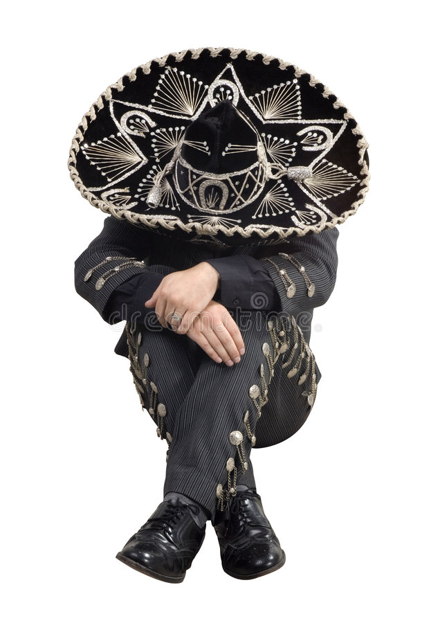 Sono mexicano do mariachi fotos de stock