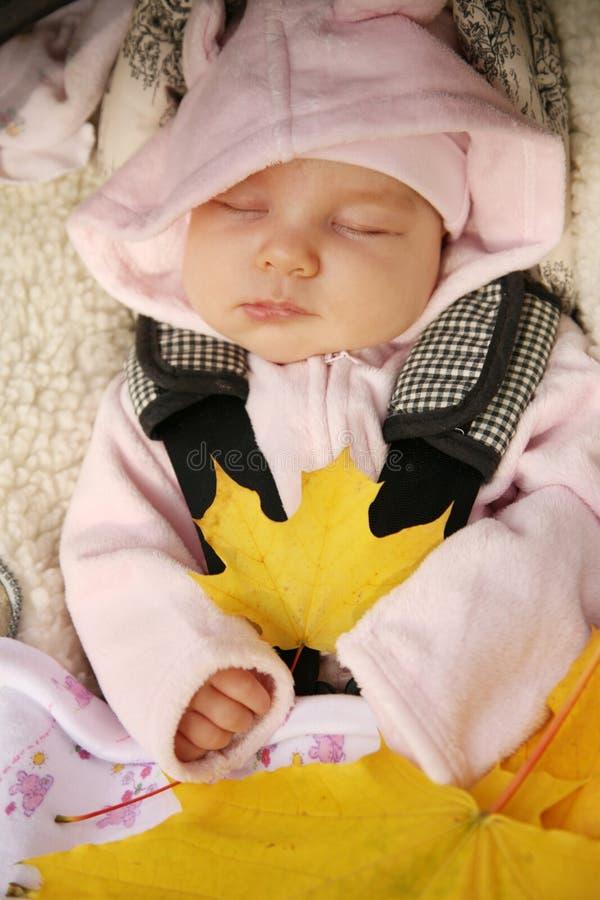 Sono recém-nascido do bebê fotos de stock