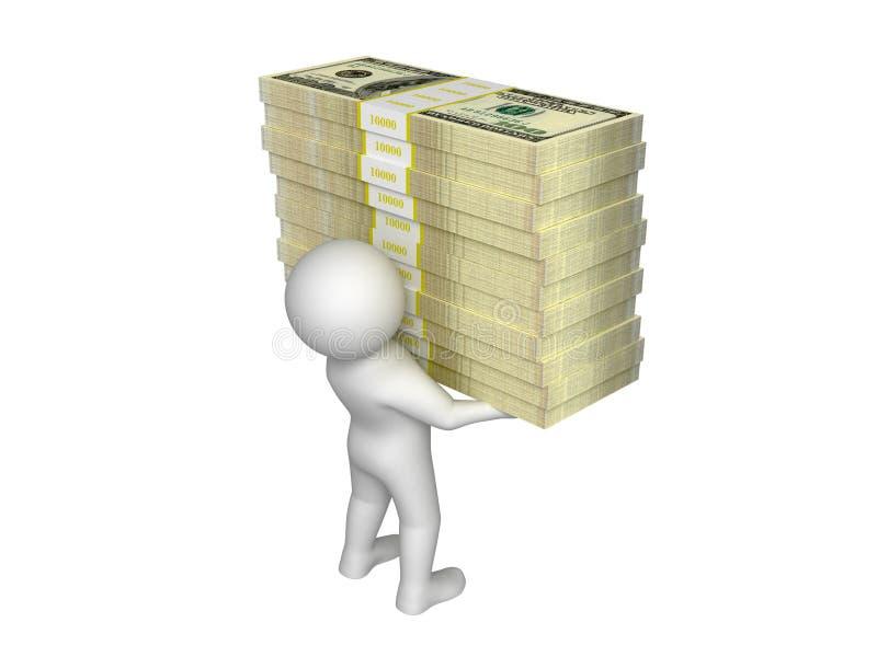 Sono ricco! royalty illustrazione gratis