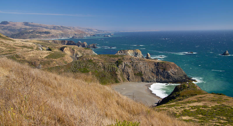 Sonoma Coastline royalty free stock image