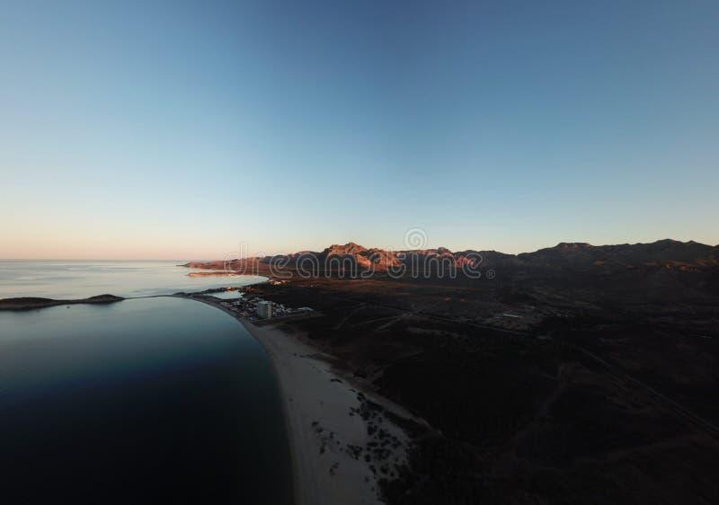Sonora Messico di San Carlo dei algodones di Playa immagine stock libera da diritti