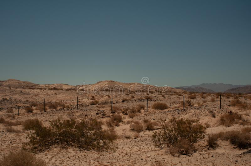 Arizona Valley Natural Desert Landscape Phoenix, USA. The Sonoran Desert is a North American desert which covers large parts of the Southwestern United States in stock photos
