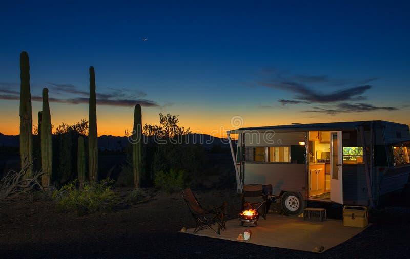 Sonoran-Sonnenuntergang lizenzfreies stockbild