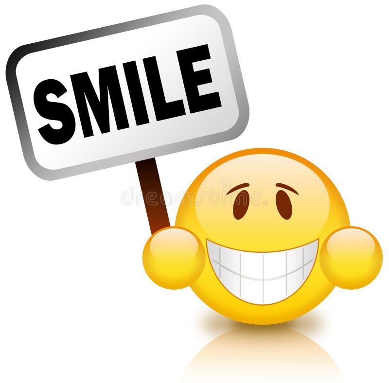 Sonrisa ilustración del vector