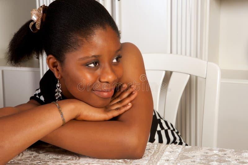Sonrisa africana foto de archivo libre de regalías