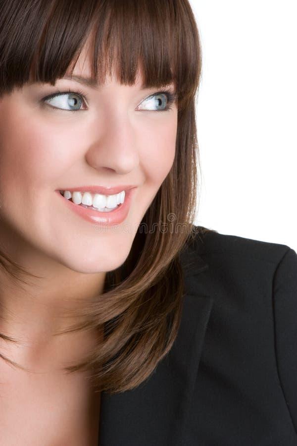 Sonrisa bonita de la mujer imágenes de archivo libres de regalías