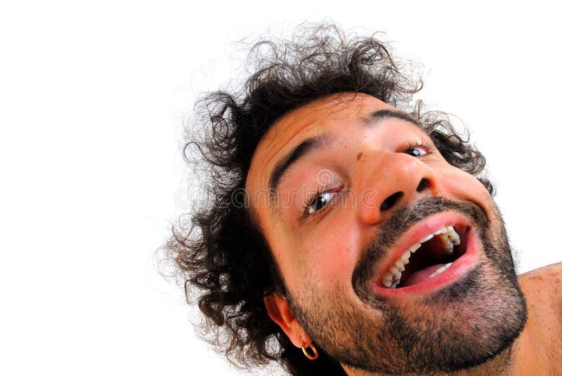 Sonrisa de la felicidad fotografía de archivo libre de regalías