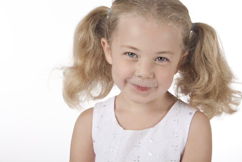 Sonrisa de la muchacha foto de archivo libre de regalías