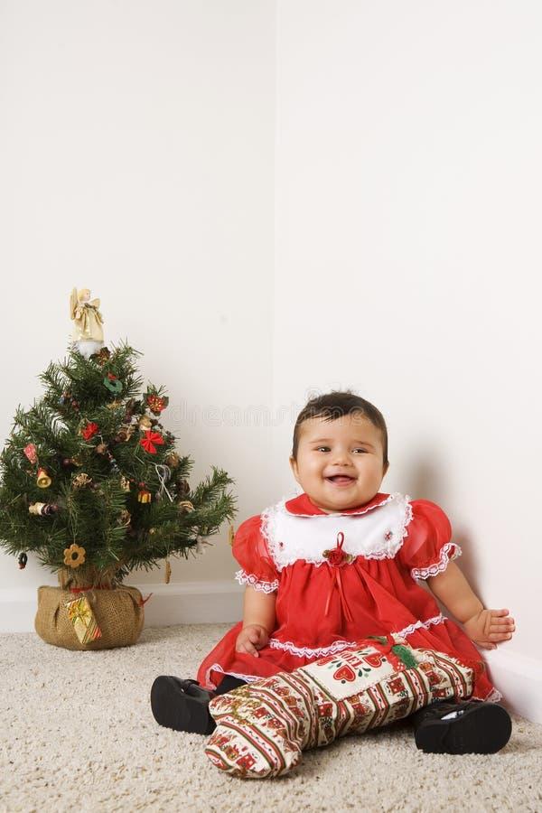 Sonrisa de la Navidad imagen de archivo libre de regalías