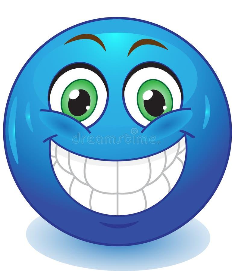 Sonrisa de la sonrisa stock de ilustración