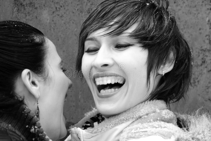 Sonrisa de las muchachas fotos de archivo libres de regalías