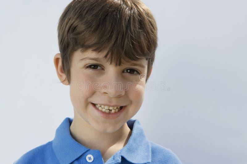 Sonrisa de Little Boy imágenes de archivo libres de regalías