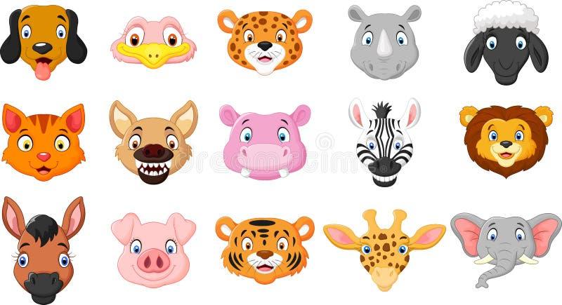 Sonrisa de los animales de la historieta libre illustration