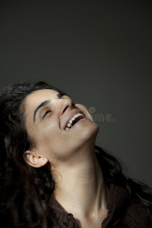 Sonrisa del adolescente fotos de archivo
