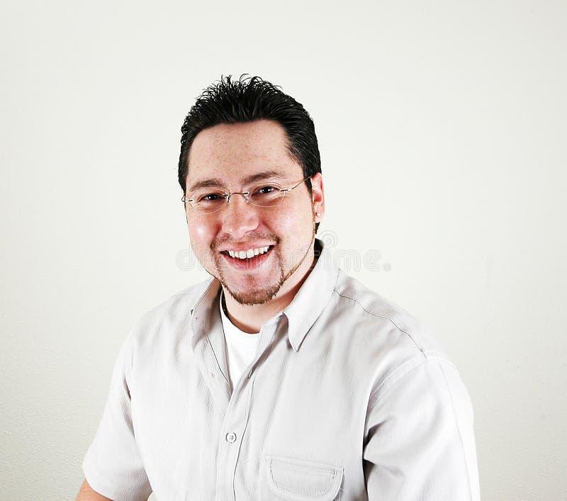 Sonrisa Del Hombre Imagen de archivo libre de regalías