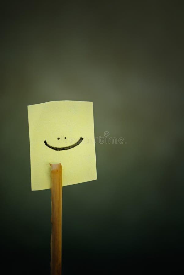 Sonrisa del icono imagen de archivo