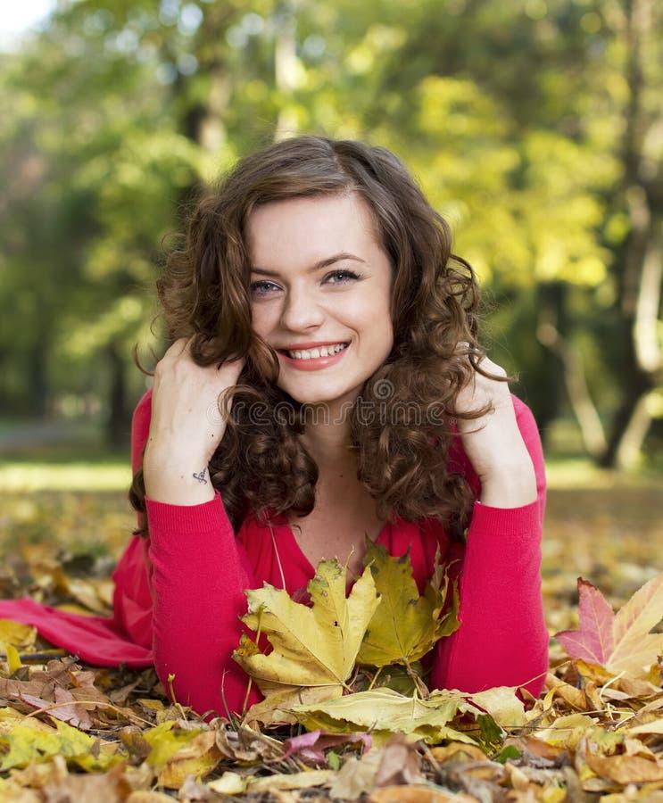 Sonrisa del otoño imagen de archivo libre de regalías