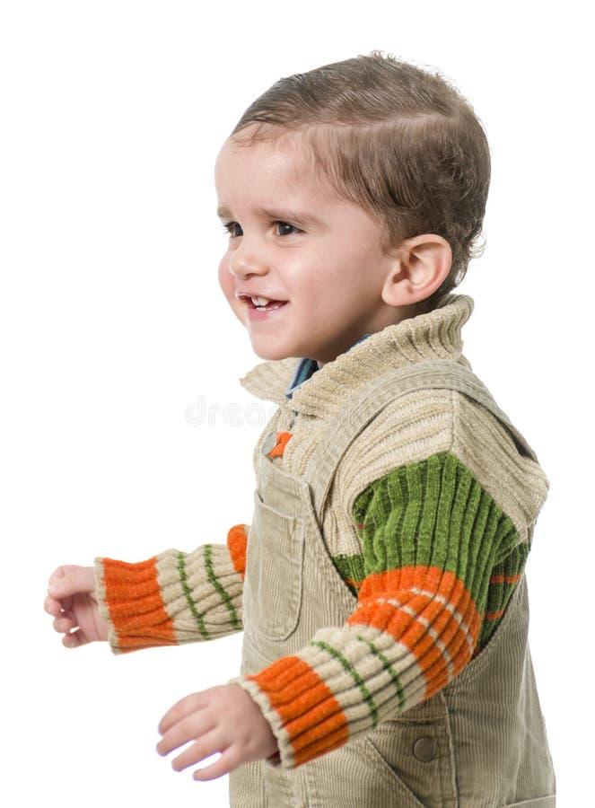 Sonrisa feliz del niño imágenes de archivo libres de regalías