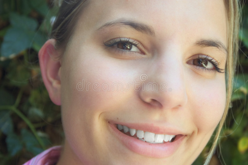 Sonrisa grande. imágenes de archivo libres de regalías