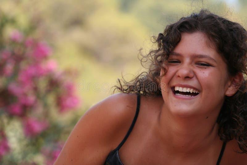 sonrisa hermosa foto de archivo libre de regalías