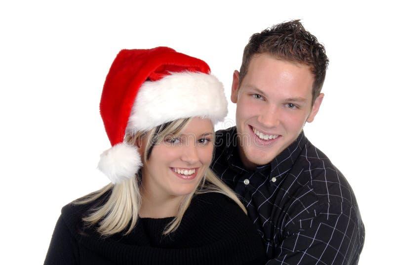 Sonrisas del día de fiesta foto de archivo libre de regalías