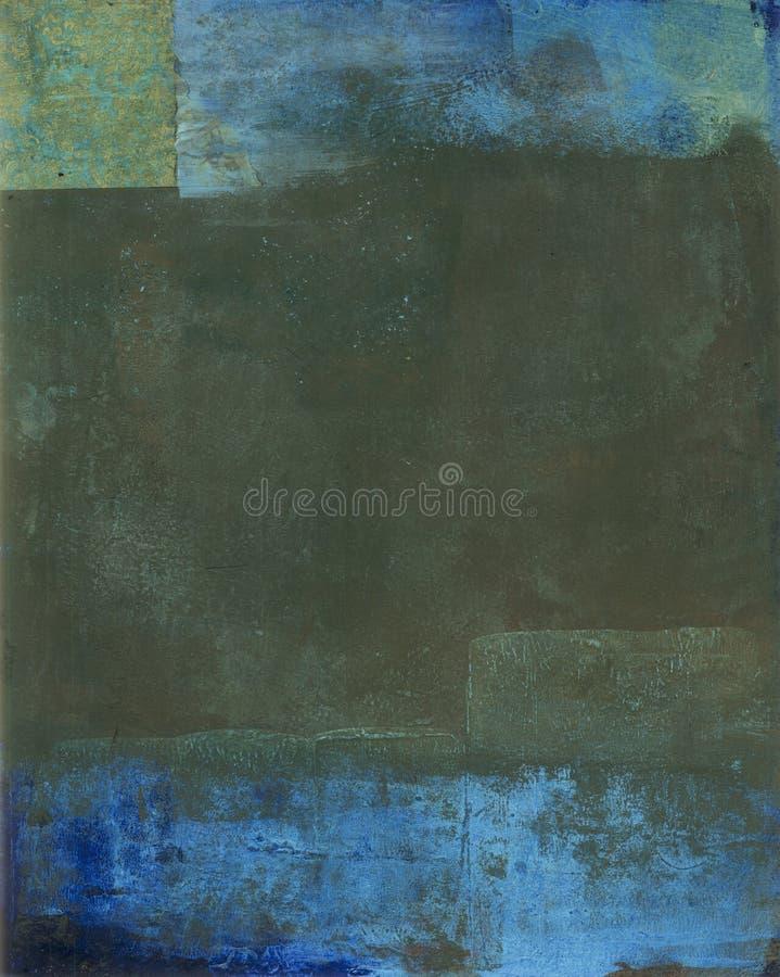 Sons abstraits de la terre de peinture illustration de vecteur