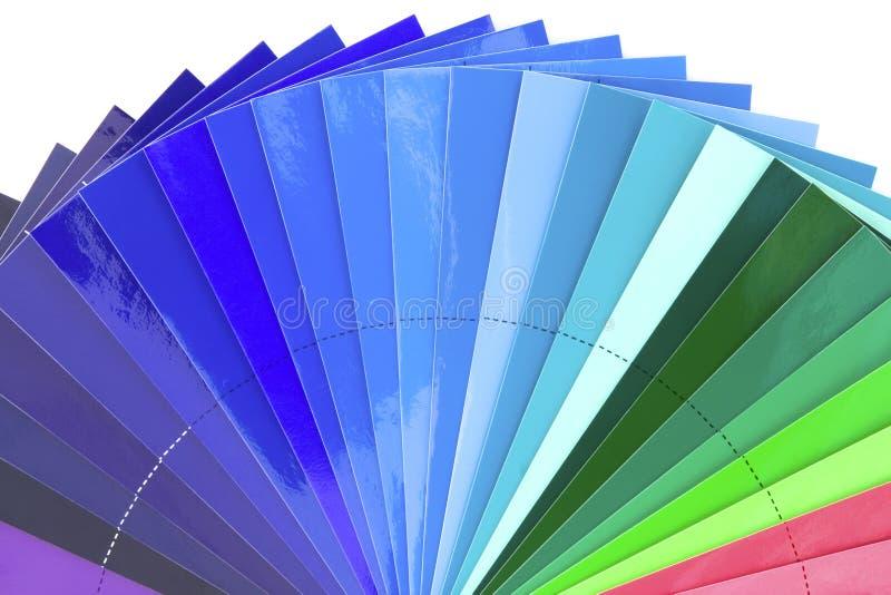 Sons bleus de couleur image libre de droits