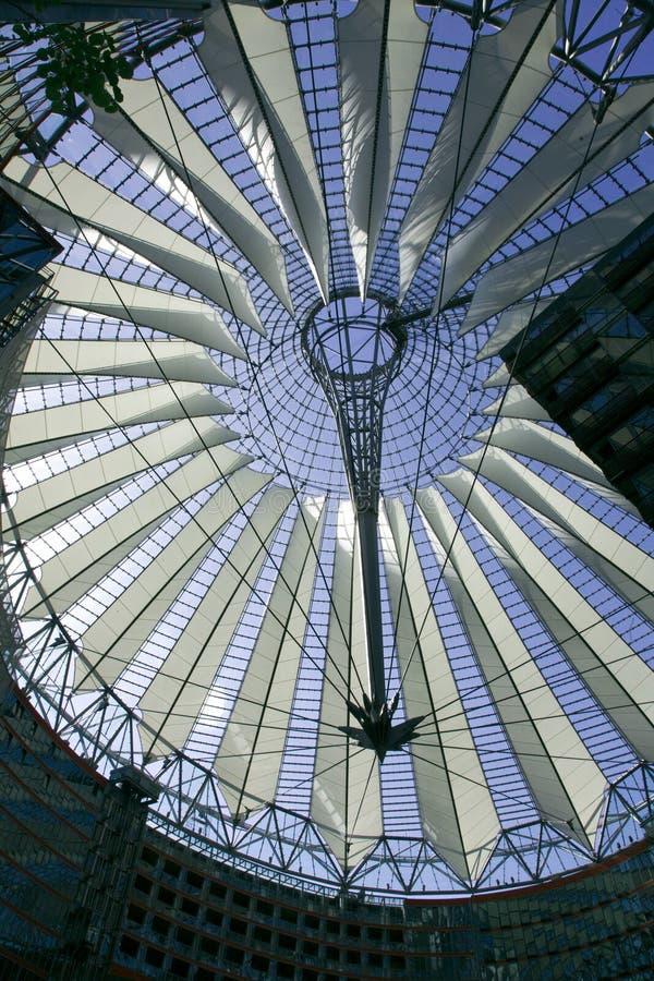 Sony Berlín de centro imagen de archivo