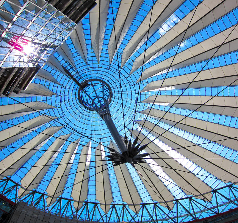 Sony Center stockbilder