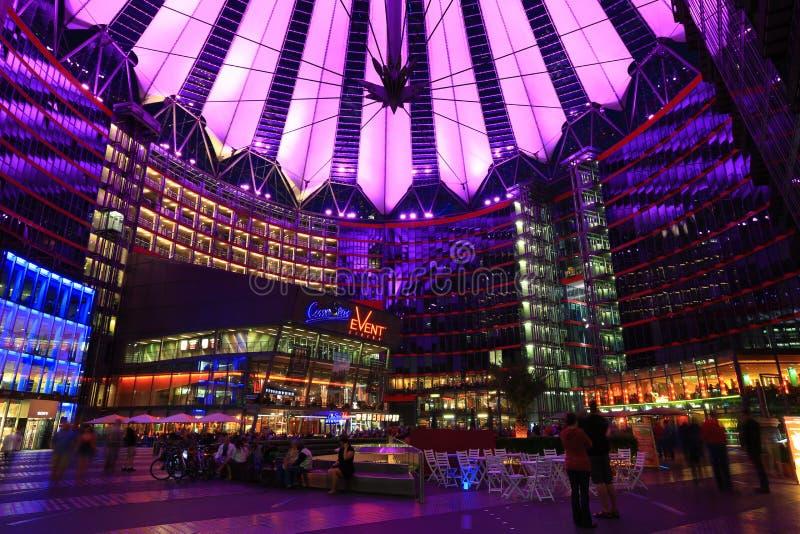 Sony Center Berlin imagen de archivo libre de regalías