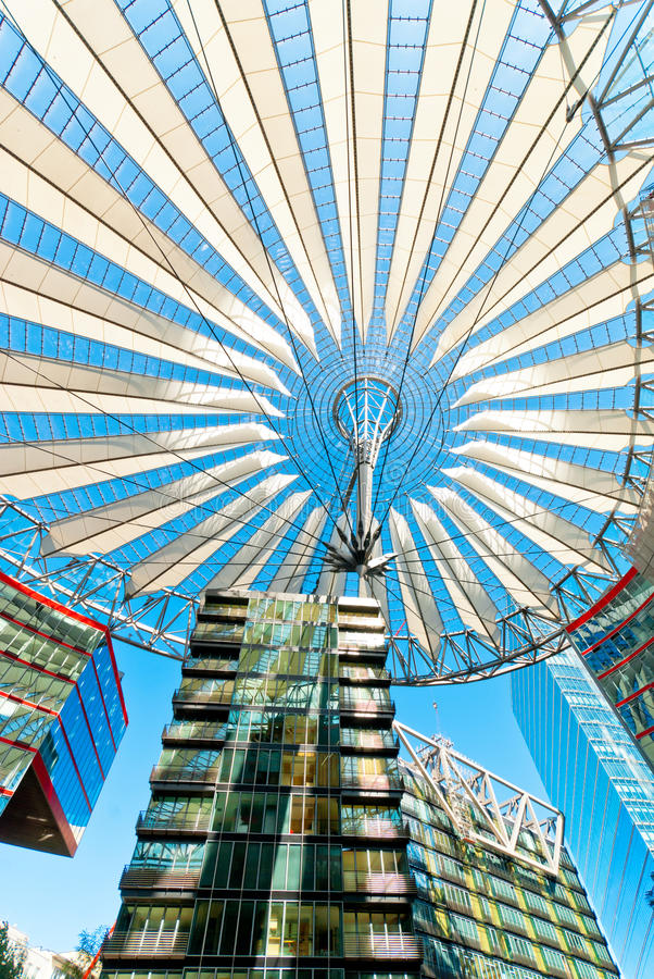 Download Sony Center Berlin stock image. Image of building, centre - 36368651