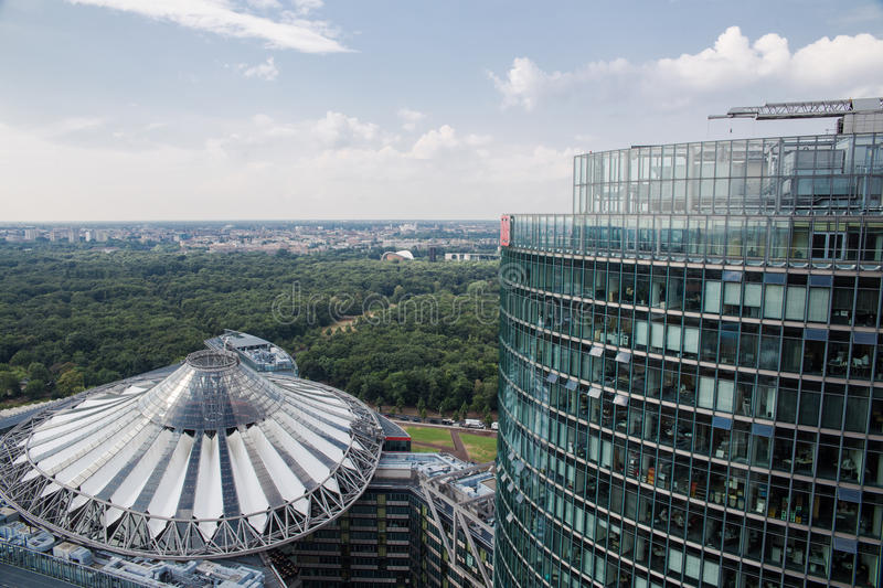 Download Sony Center stock image. Image of circle, architecture - 33663433
