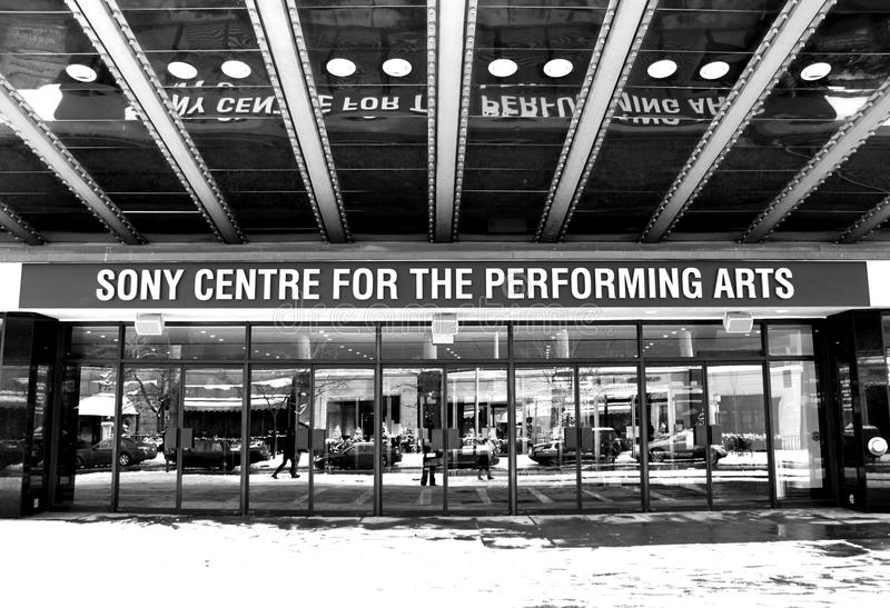 Sony Centre For The Performing Arts stock image
