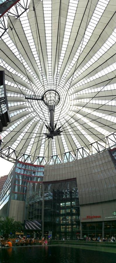 Sony centrerar i Berlin fotografering för bildbyråer