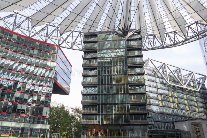 Sony centrerar i Berlin royaltyfri foto