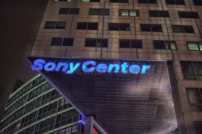 Sony-Centro en Berlín imágenes de archivo libres de regalías
