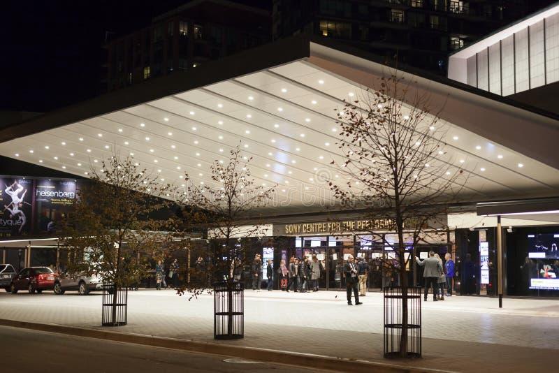 Sony-centrum voor de uitvoerende kunsten in Toronto stock fotografie