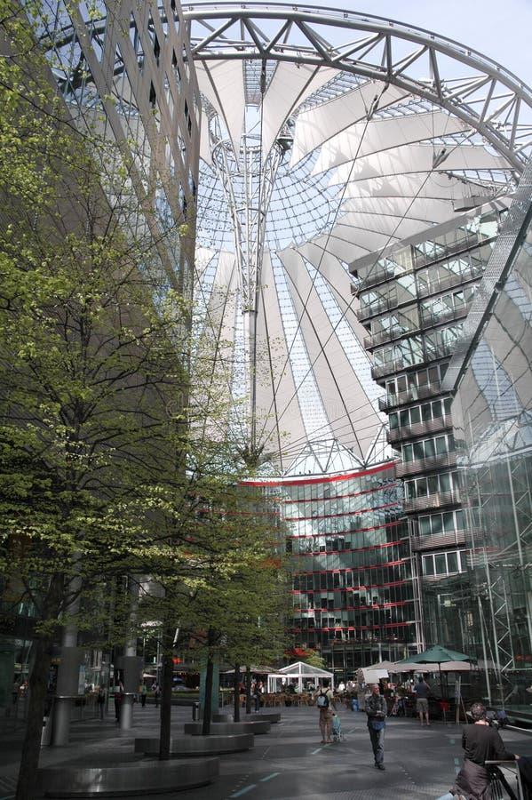 Sony centrum w Berlin zdjęcia stock
