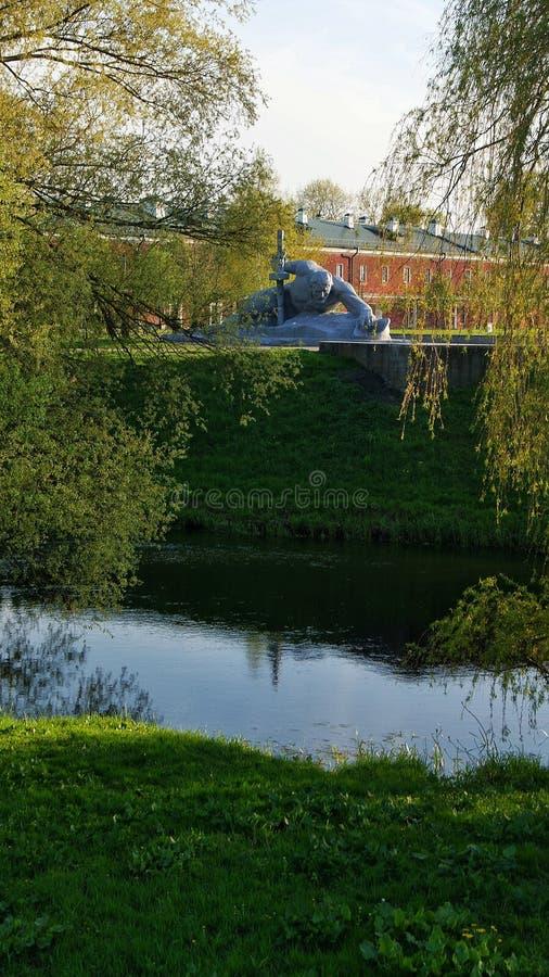 Fortress Brest Belarus temple landscape royalty free stock photos