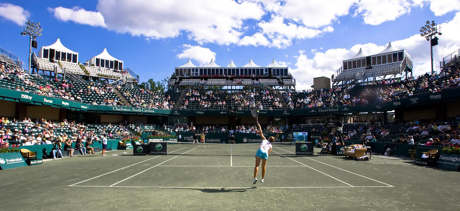 Download Sony Ericsson WTA Tour Family Cirlce Cup Apr 16 Editorial Stock Image - Image: 9010859