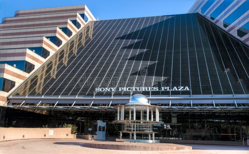Sony Pictures Plaza royalty-vrije stock fotografie