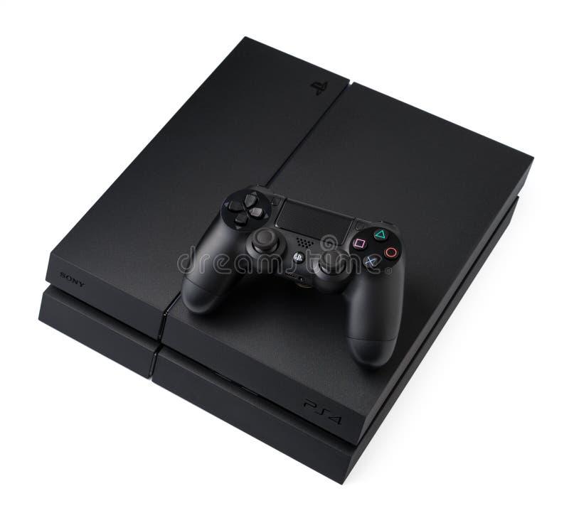 Sony PlayStation 4 stockbild