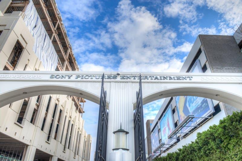 Sony Studios imagens de stock