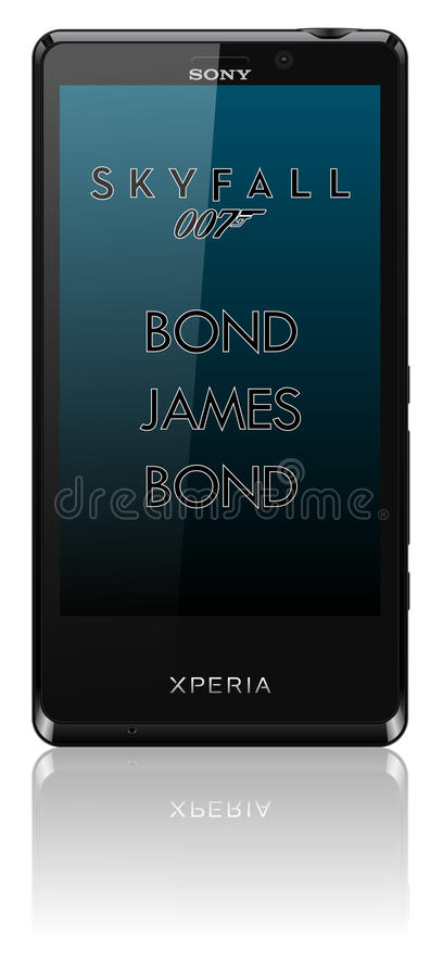 Sony Xperia T Skyfall mobile