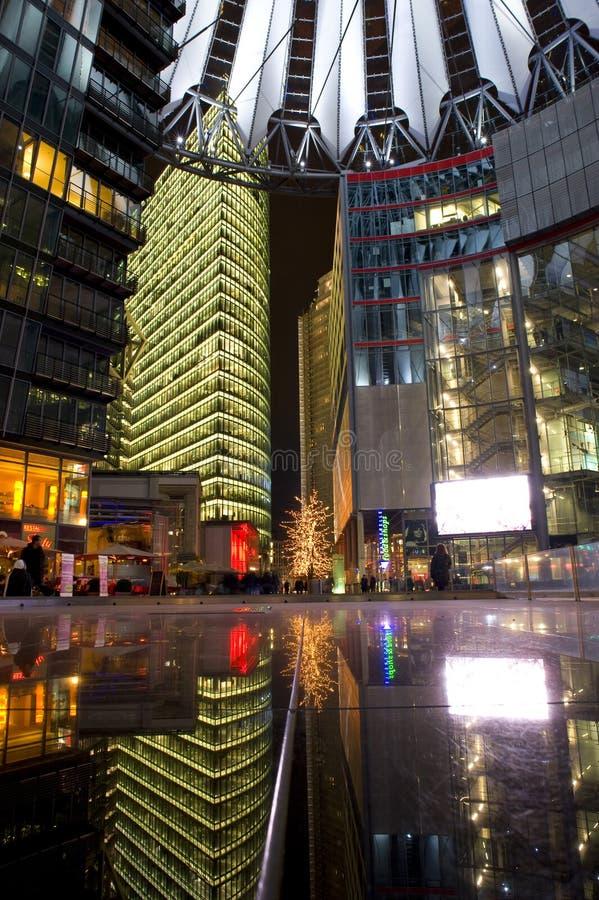 Sonycenter Berlin/Deutschland lizenzfreie stockbilder
