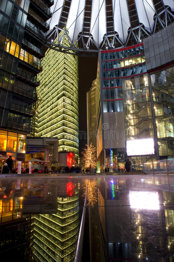 Sonycenter Berlin/Germany royalty free stock images