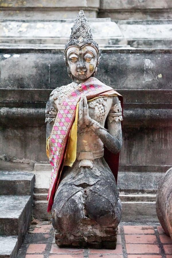 soort uitstekend boeddhismestandbeeld royalty-vrije stock fotografie